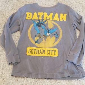 Batman old navy shirt 6 7